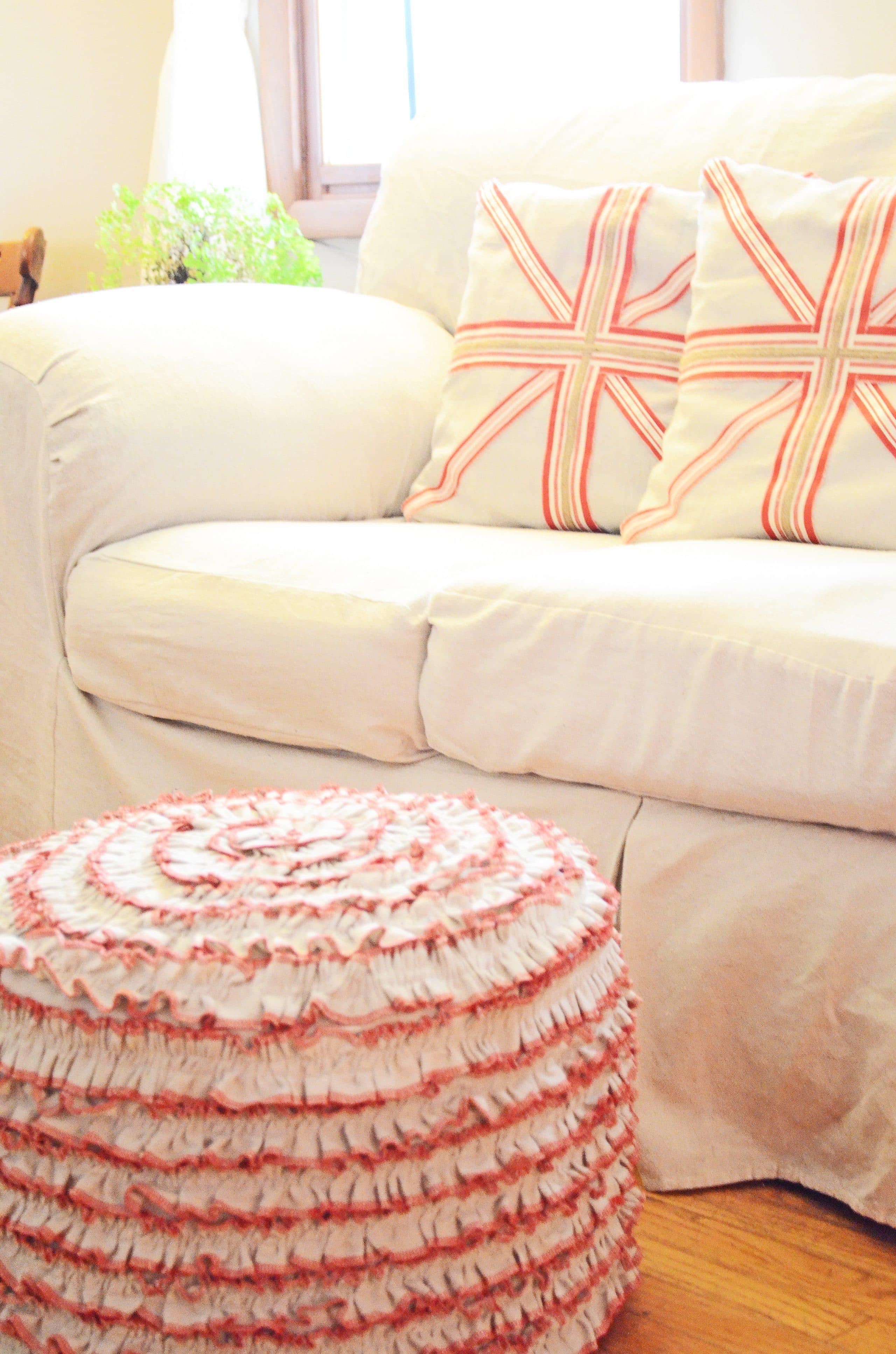 Sew A Fine Seam: Liv's 'New' Living Room