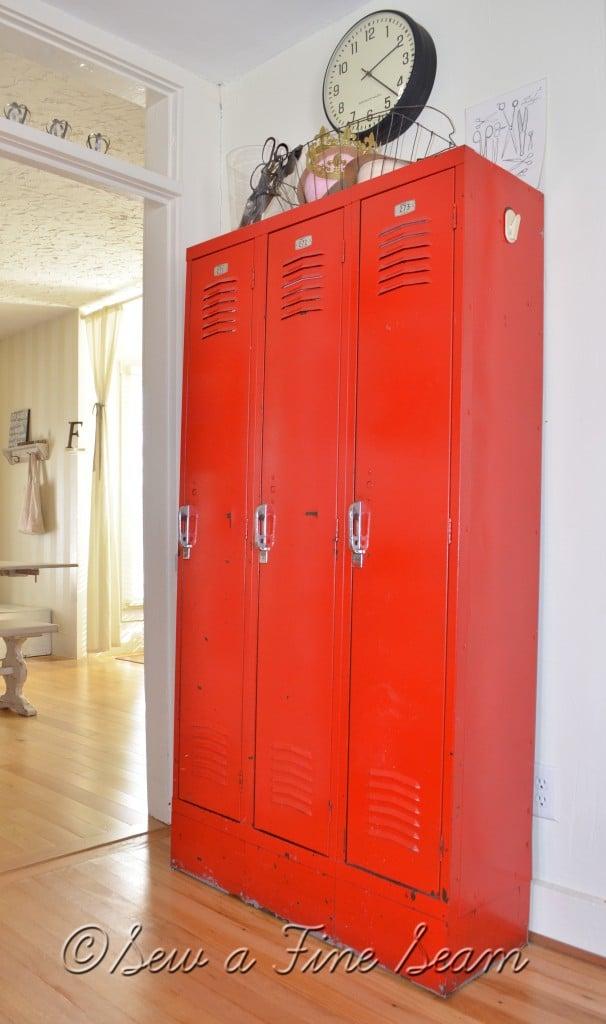 lockers create great storage