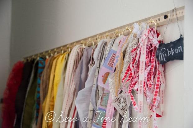 DIY Ribbon Organizer