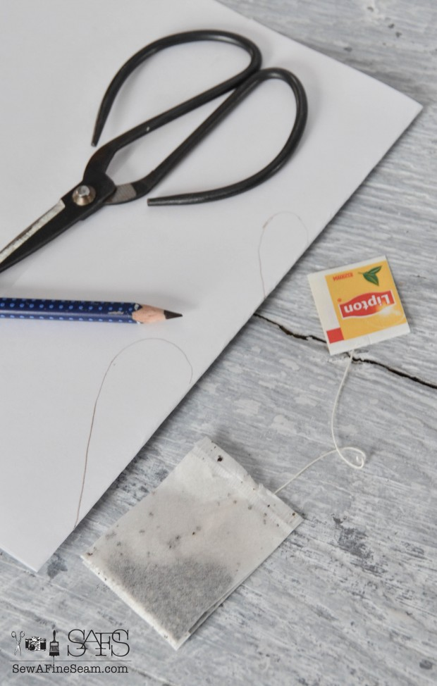 DIY handmade toy tea bags tutorial