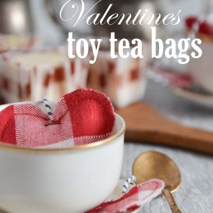 DIY Valentine Toy Tea Bags