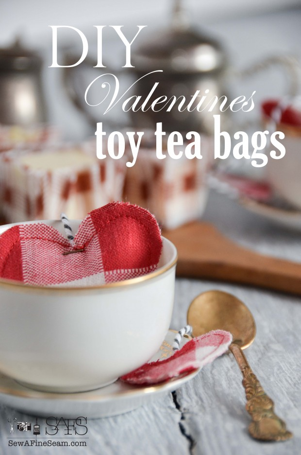 DIY handmade Toy Tea Bags Tutorial