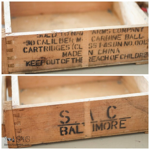 ammunition box to desktop organization OR flower vase