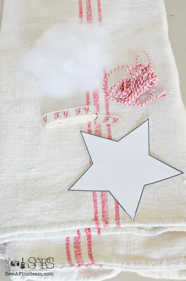 European grain sack made into star christmas ornaments top 10 of 2015