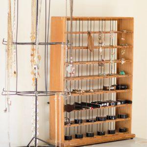Makeup&Jewelry Organization+Vintage RIT Dye Rack