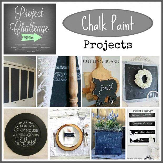 chalkboard paint project challenge