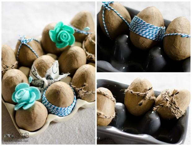 easter egg decor eggs detailed for fun vignettes