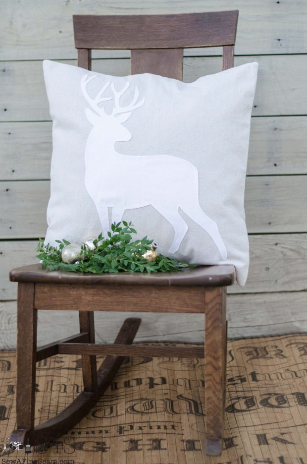 standing-deer-white-on-canvas-christmas-pillows-2016