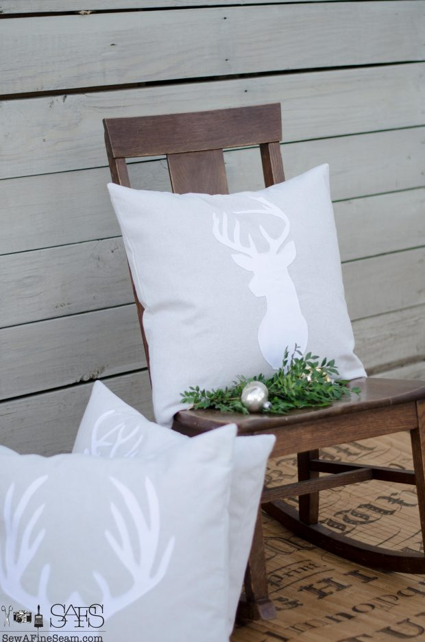 white-on-neutral-deer-head-christmas-pillows-2016