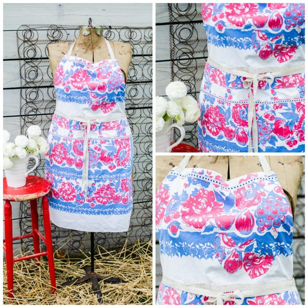 blue-red-vintage-tablecloth-apron
