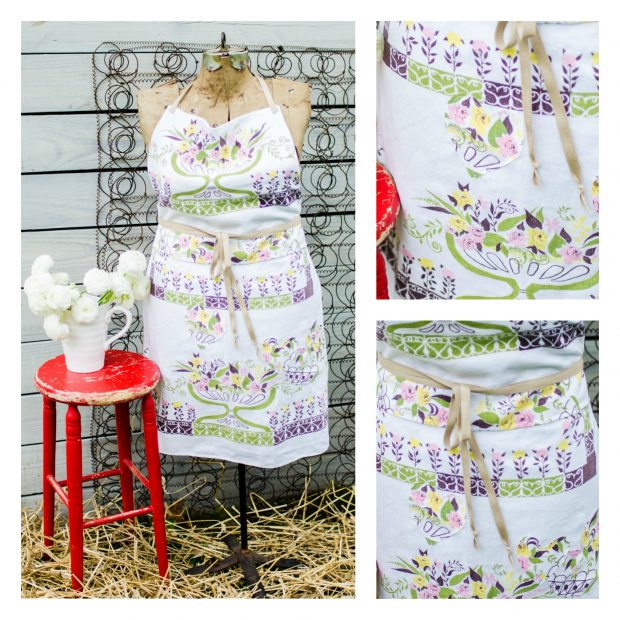 pink-green-yellow-vintage-tablecloth-apron