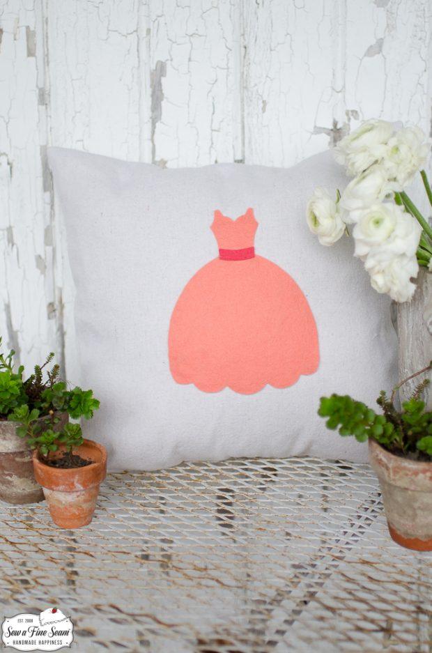 princess-dress-small-pillow