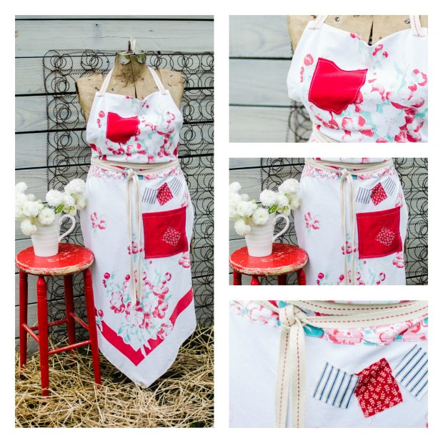 red-white-ohio-vintage-tablecloth-apron