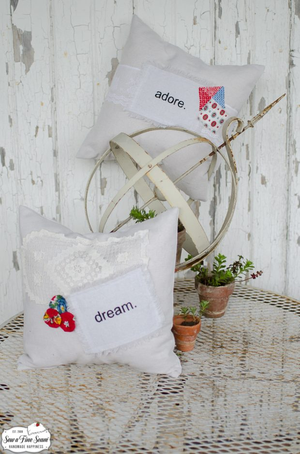 word-art-vintage-lace-pillows-dream-adore