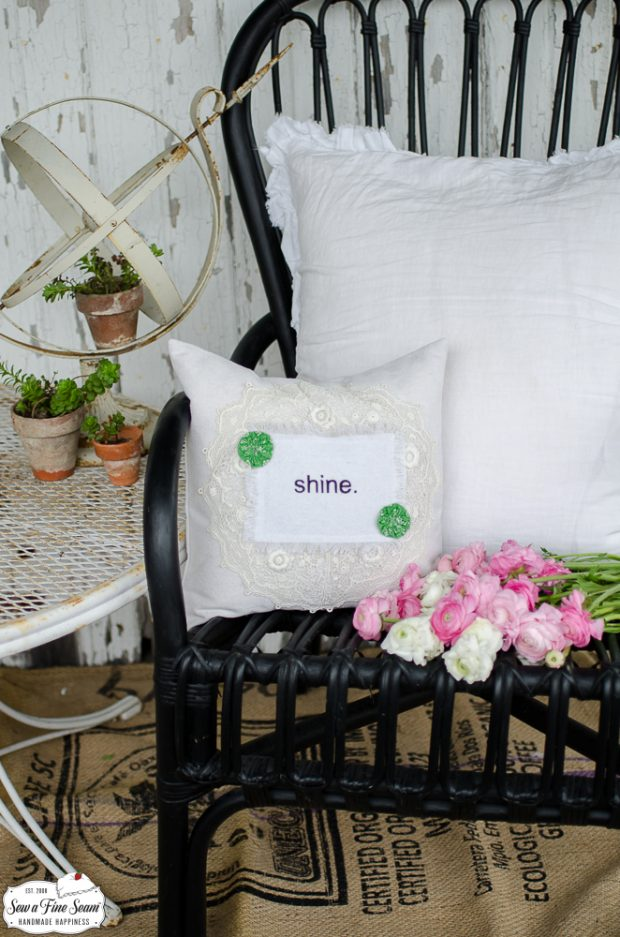 word-art-vintage-lace-pillows-shine
