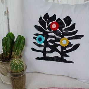 Succulent and Cactus Pillow Designs