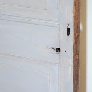 Chalk Paint on a Door from the Trash Heap