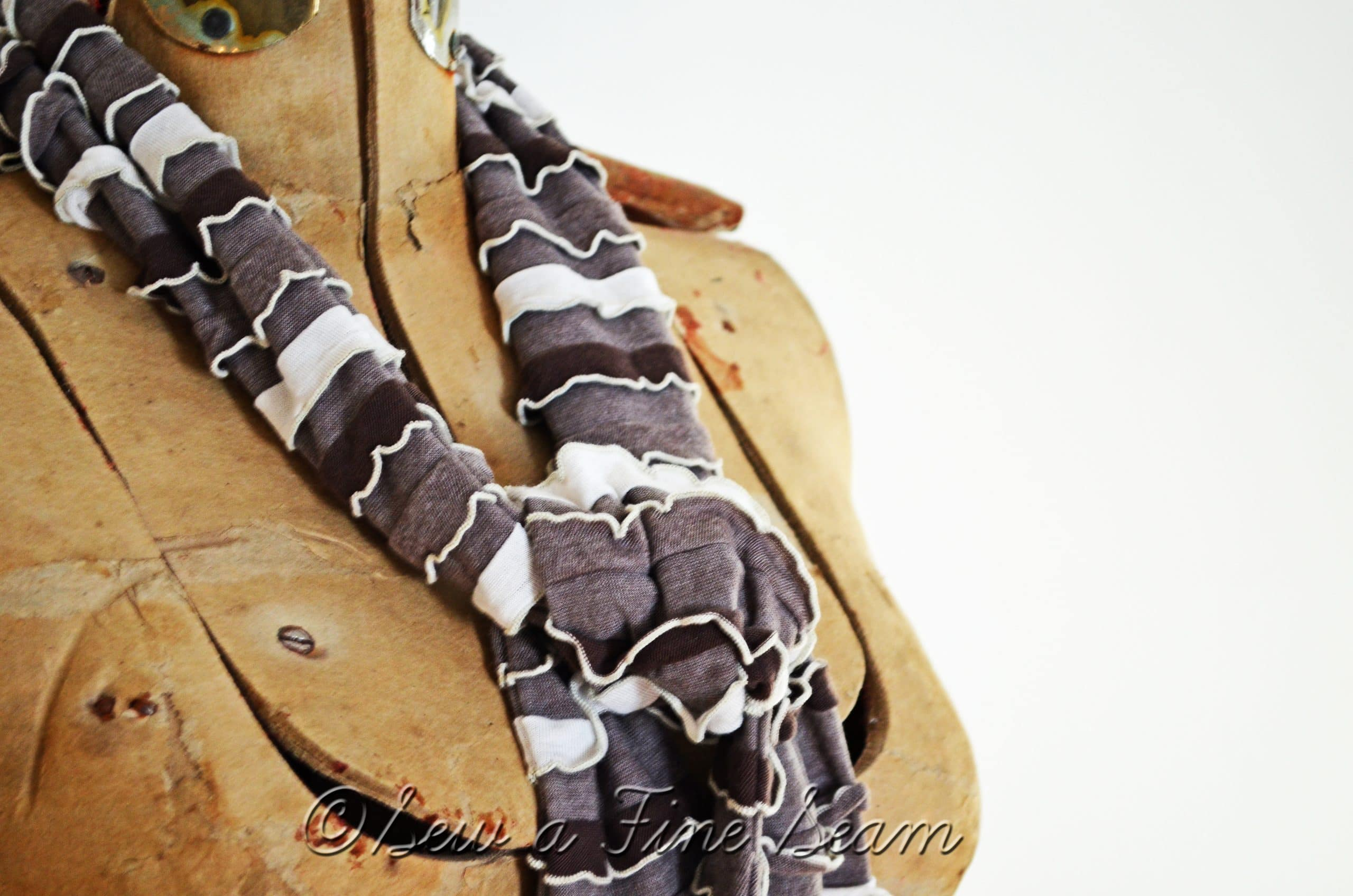 S'mores Ruffled Scarf