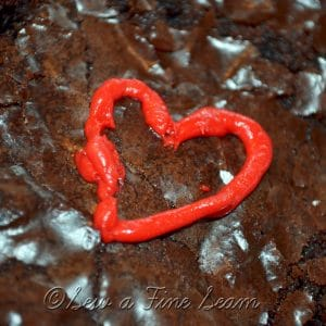 Brownies, Hearts, and Valentines