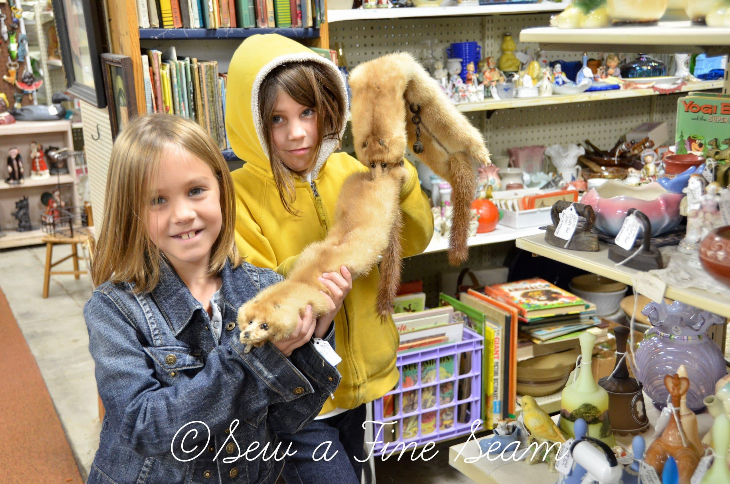 Antique Shopping with Kids