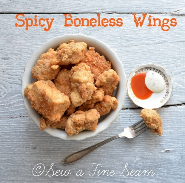 spicy boneless wings