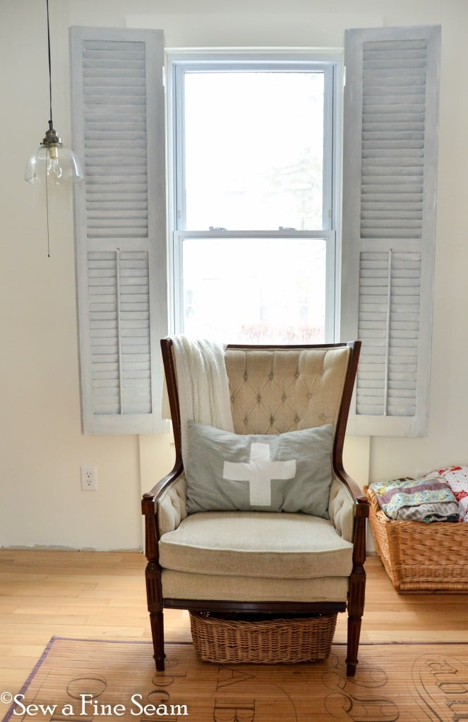 Shutters As Window Treatments Sew A Fine Seam
