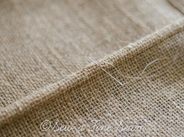burlap roman shade (3 of 15)