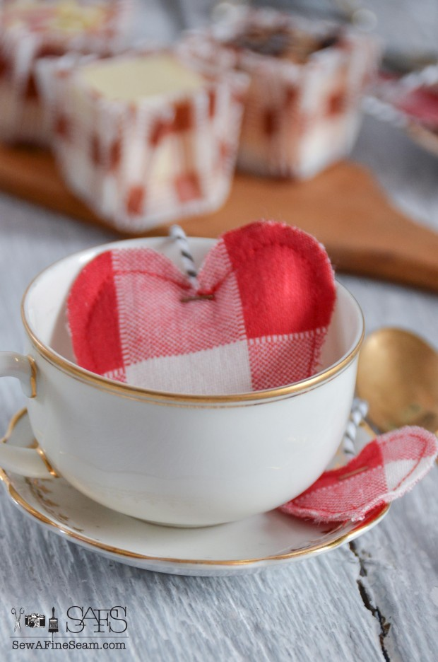 Tea Party with handmade DIY toy tea bags