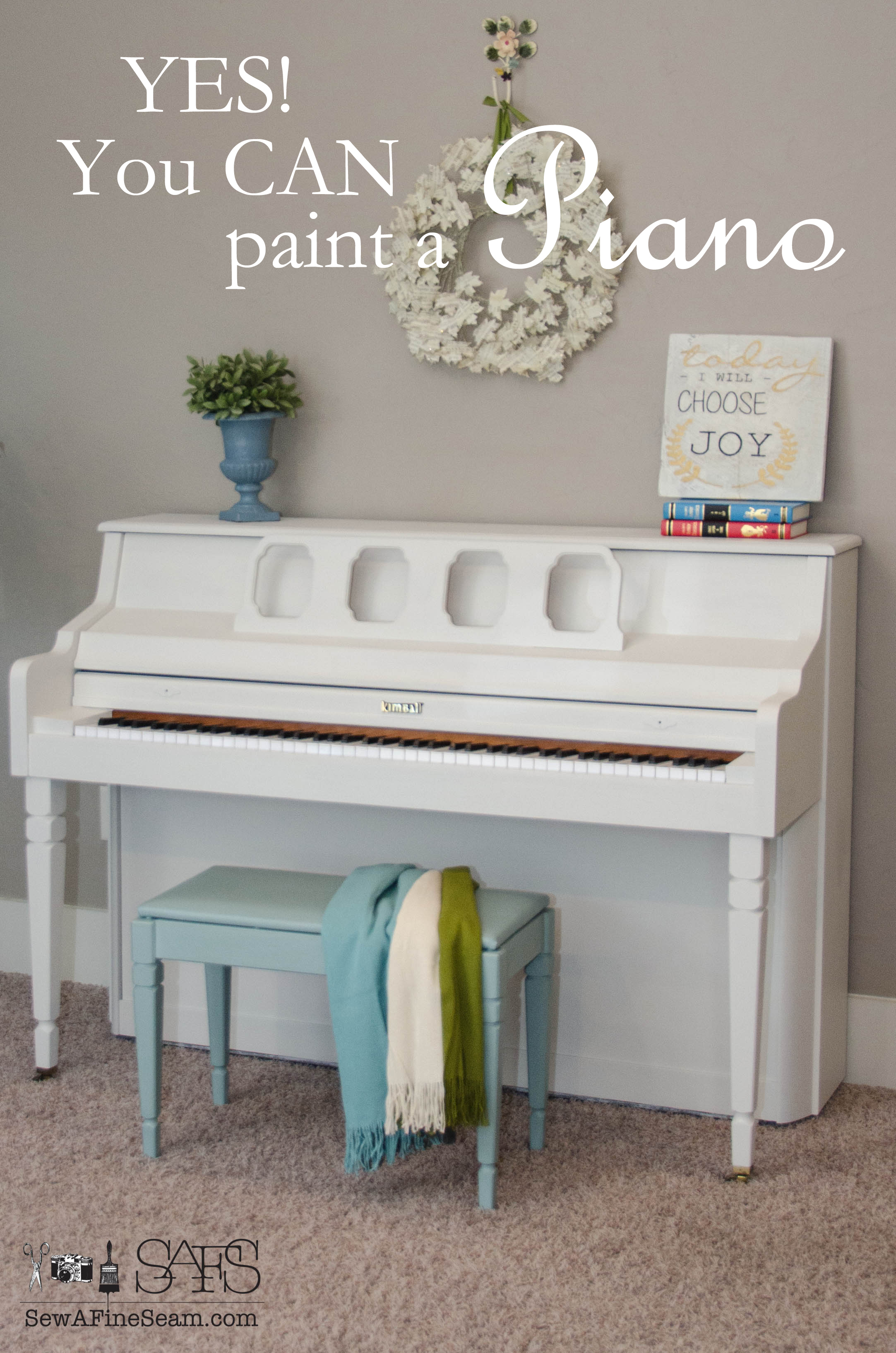 Yes, You CAN Paint a Piano!