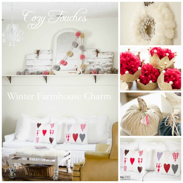 cozy farmhouse touches for winter
