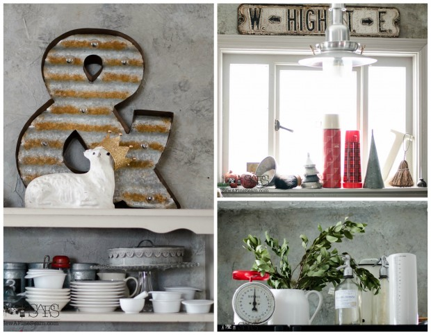 farmhouse touches for a cozy kitchen