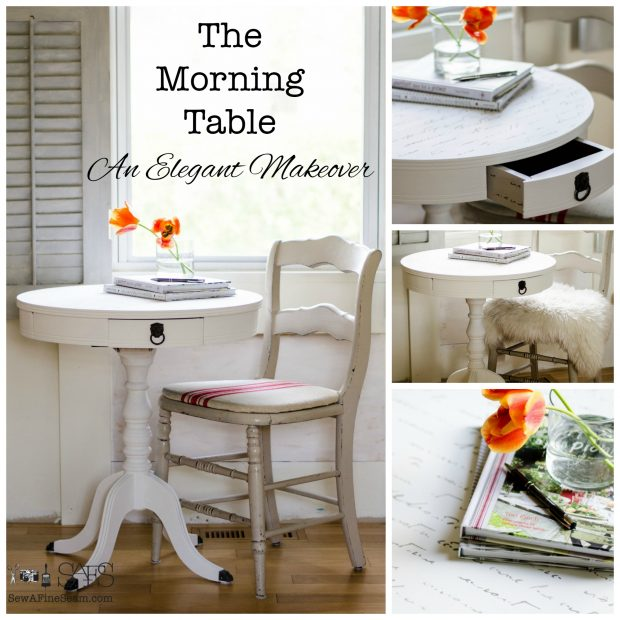 the morning table and elegant makeover