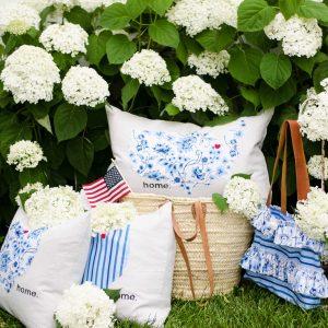 Sweet Tea Pillows and Handbag