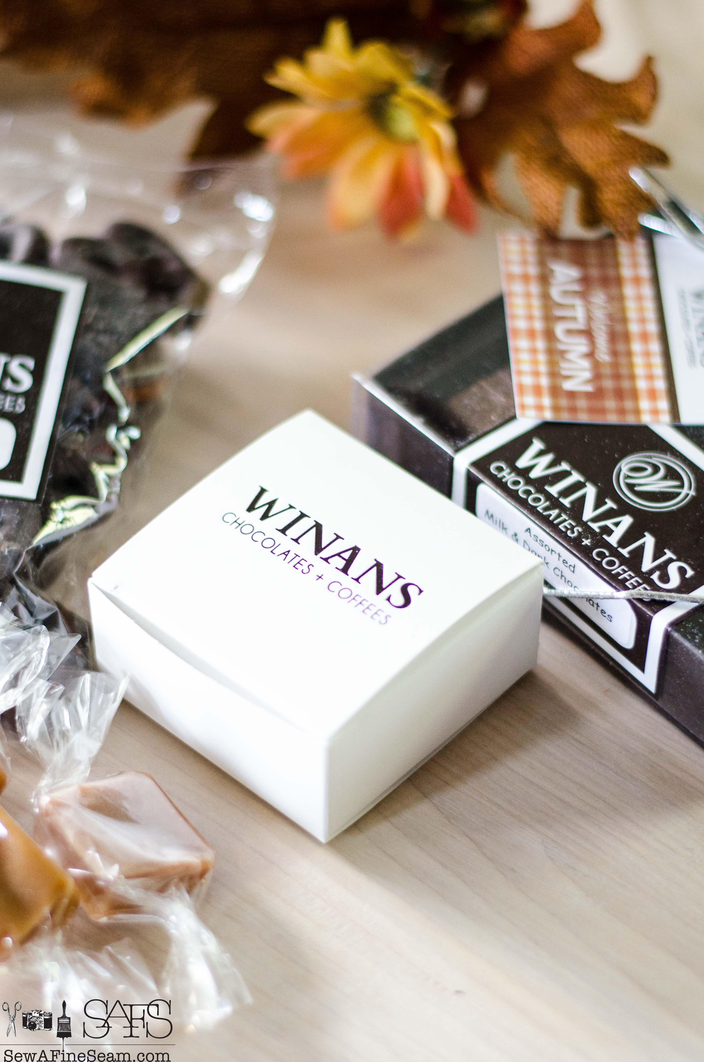 Winans Chocolates and Coffees | Sew a Fine Seam