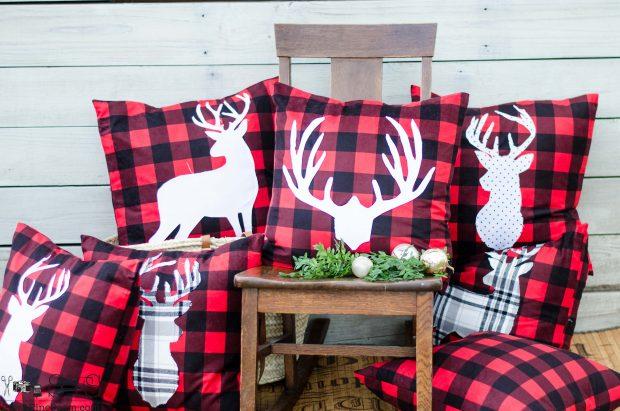 red-and-black-buffalo-plaid-christmas-pillows-2016