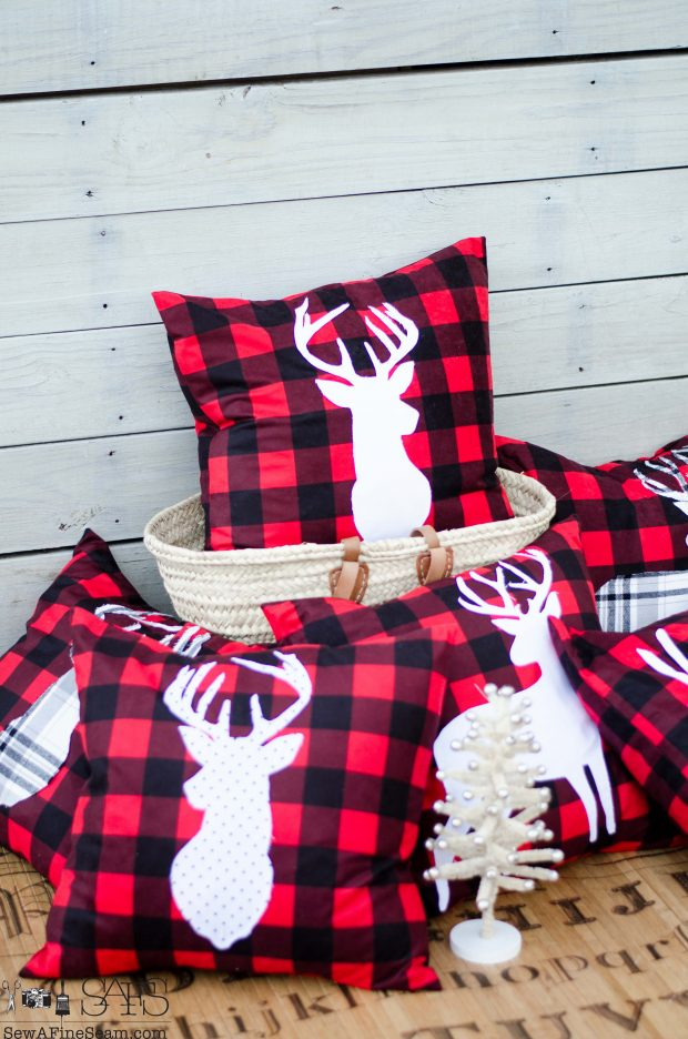 red-plaid-with-white-deer-christmas-pillows-2016