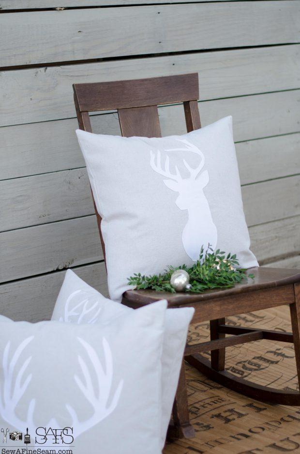 white-on-neutral-deer-head-christmas-pillows-2016
