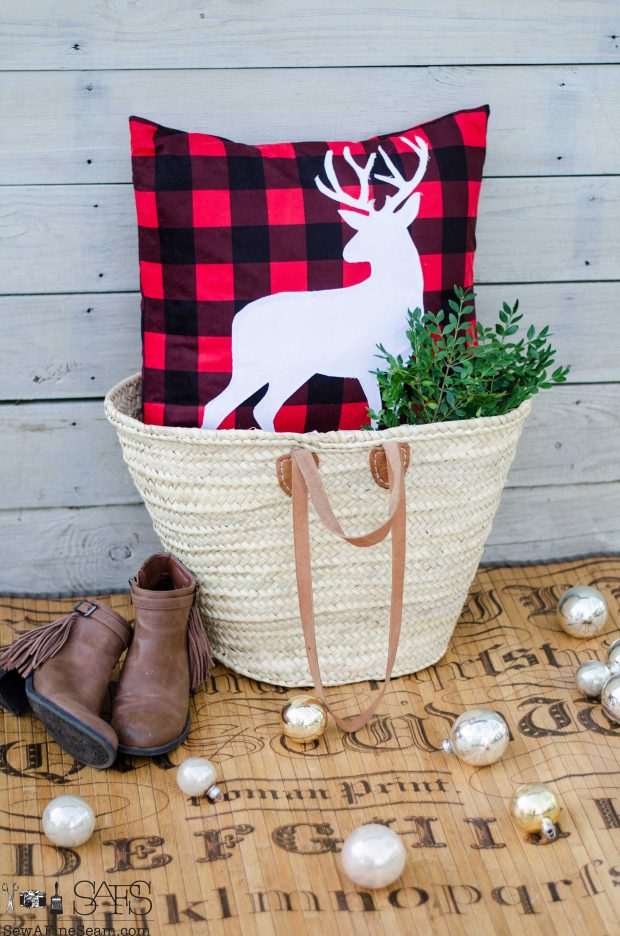 white-standing-deer-red-and-black-christmas-pillows-2016