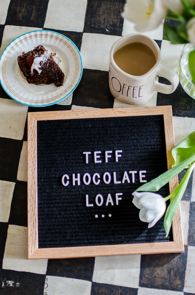 Teff Flour and Chocolate Goodness