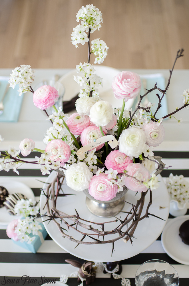 Easter Tablescape and Spring Decor