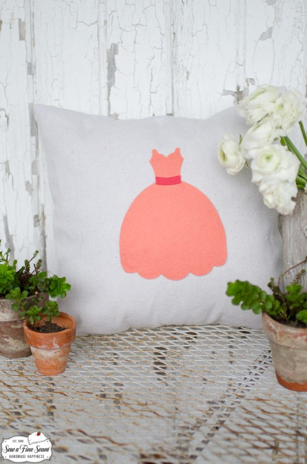 princess-dress-small-pillow