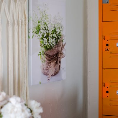 Peonies, a Record Player, and a Very Affordable Canvas Print