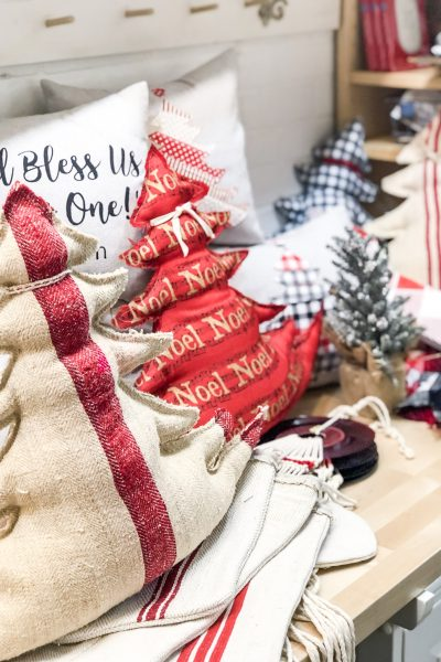Christmas Pillows 2018 and a Small Business sale