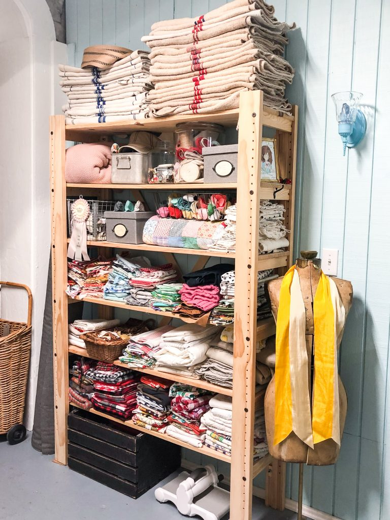 fabric-storage-work-space