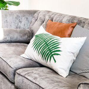 large fern leaf