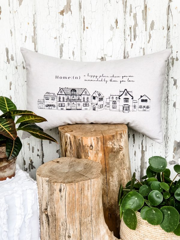 gift of home pillow