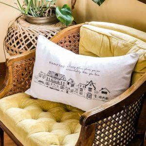 THE GIFT OF HOME | Lumbar Throw Pillows