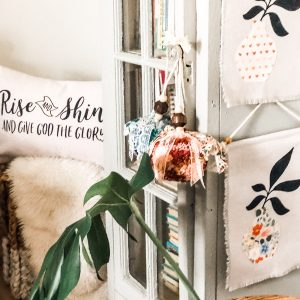 RISE, SHINE, AND BLOOM | Botanical Pillows